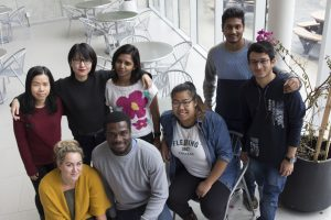 Diverse students with many racial and cultural backgrounds