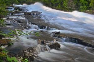 Buttermilk Falls, Halb