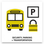 Security, Parking and Transportation
